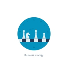 Concepts for business strategy vector image