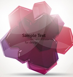 Abstract Pink Design vector image