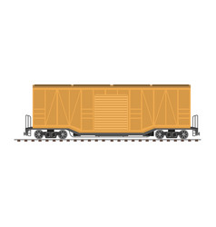 big industrial carriage vector image