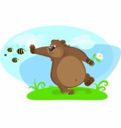 Cartoon bear vector