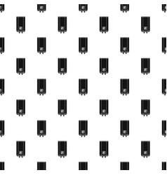 natural gas boiler pattern seamless vector image
