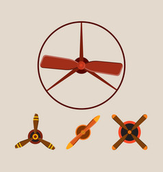 Propeller fan wind ventilator equipment air vector