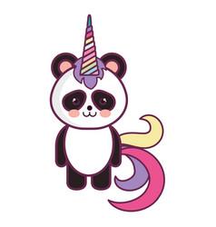 stuffed animal panda vector image