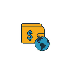 Vpn pay icon simple element from icons collection vector