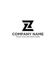 z logo vector image