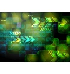 vibrant technical backdrop vector image