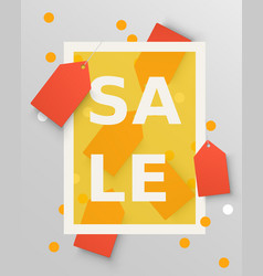 sale labels design elements vector image