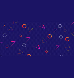 80 styles background with geometric shapes vector
