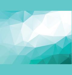 blue white geometric background vector image