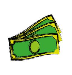 money bill icon vector image