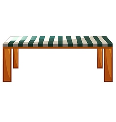 A table furniture vector image