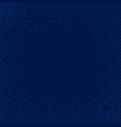 circle dark blue background circle pattern art vector image