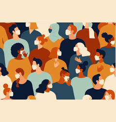 coronavirus pandemic novel 2019-ncov vector image