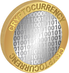Cryptocurrency vector