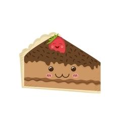 Delicious Cake dessert vector