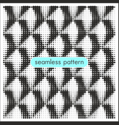 seamless patterns with halftone dots 16 vector image