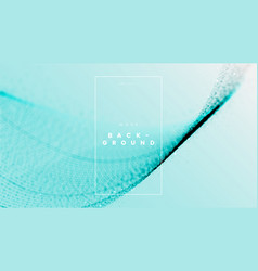 Soft blue abstract wave liquid background with vector