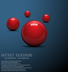 ball background vector image vector image