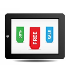 Marketing sale vector image vector image