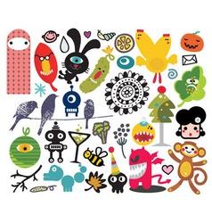 misc cartoons vector image vector image