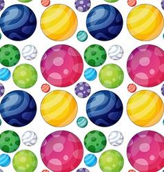 Seamless ball vector image