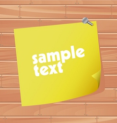 blank paper vector image