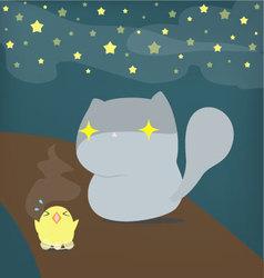 Cat and Chicken Episode 2 vector