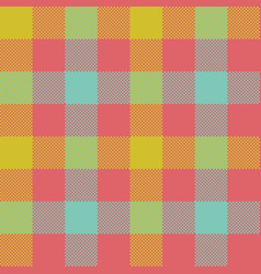 check plaid seamless pattern vector image
