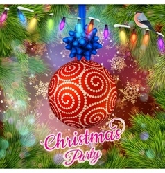 Christmas Party design template EPS 10 vector