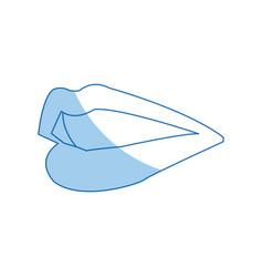 Female lips mouth symbol icon design vector