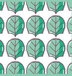Green nice organic leaf plant background vector