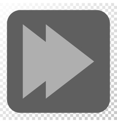 Move Right Rounded Square Button vector