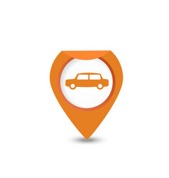 Pointer GPS vector image