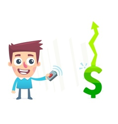 Remote earning money vector