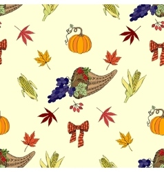 Seamless pattern Thanksgiving-03 vector