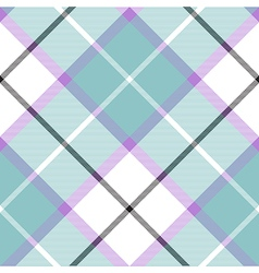 Soft warm plaid baby color seamless pattern vector