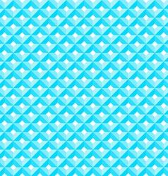 Blue Diamond Pattern vector image vector image