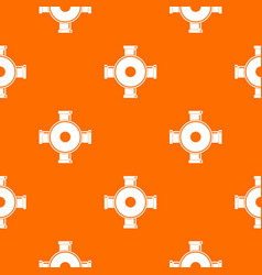 pipe fitting pattern seamless vector image
