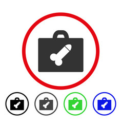 Dildo toolbox rounded icon vector