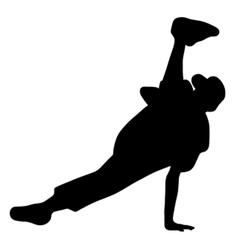 streetdancer vector image