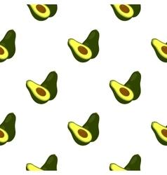 Avocado icon cartoon singe fruit icon vector