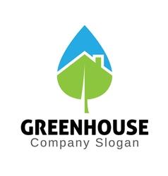 Green home design vector