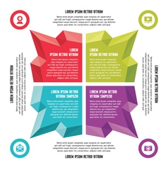 Infographic Business Concept - Abstract For vector image vector image