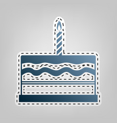 Birthday Cake Outline Vector Images Over 1 600