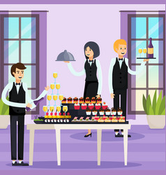 Catering orthogonal composition vector