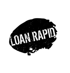 Loan rapid rubber stamp vector