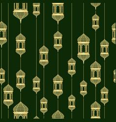 Ramadan seamless pattern vector