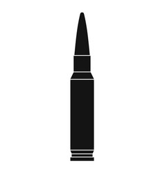 Small bullet icon simple style vector
