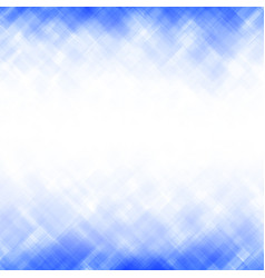 abstract blue square mosaic pattern vector image