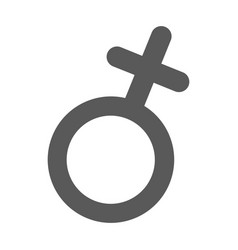 female gender symbol icon simple vector image vector image